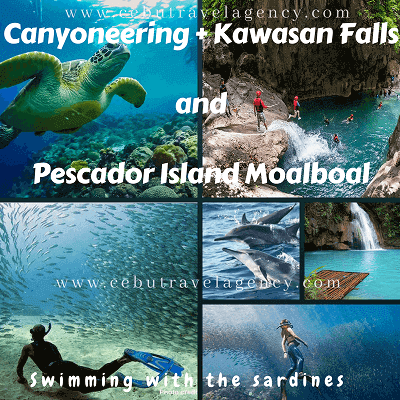 Kawasan Canyoneering with moalboal tour