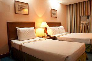RAJAH PARK HOTEL deluxe room